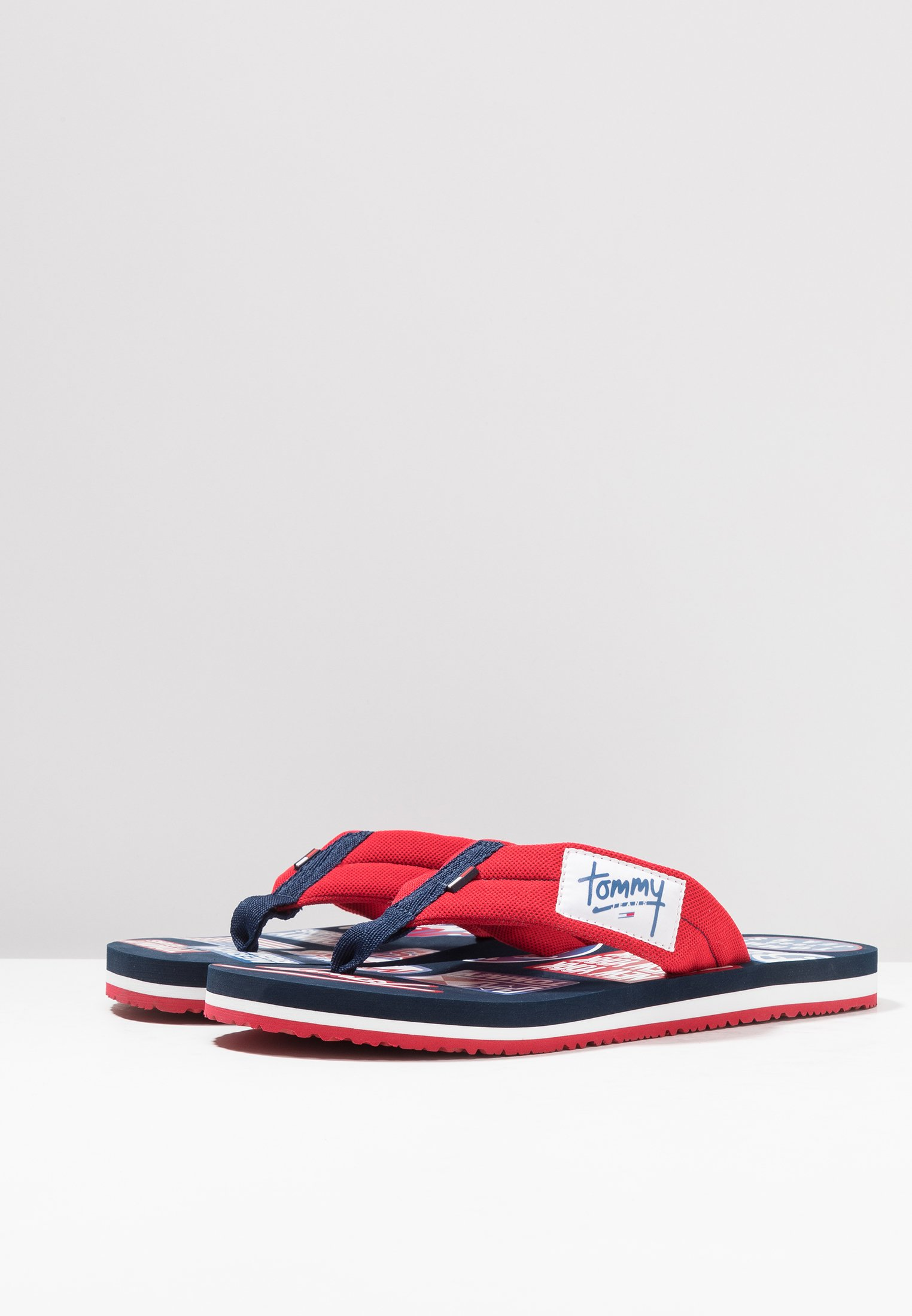 Red Jeans Tommy Tommy Logo Logo Red BeachTongs Jeans Tommy BeachTongs Pnw0Ok