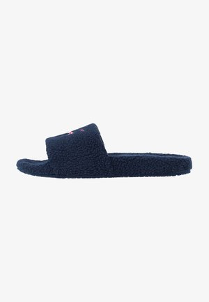SIGNATURE SLIDE - Slippers - blue