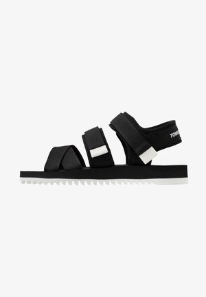 LOGO STRAP - Walking sandals - black