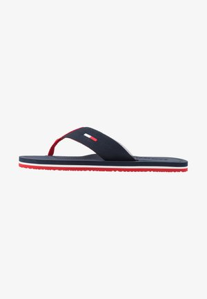 COMFORT FOOTBED BEACH - Sandaler m/ tåsplit - red