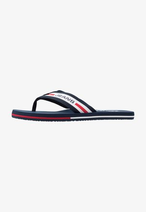 BEACH - T-bar sandals - red