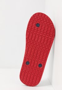 Tommy Jeans - BEACH SANDAL - Pool shoes - red - 4