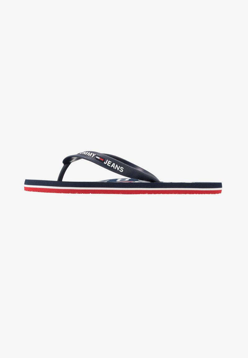 Tommy Jeans - BEACH SANDAL - Pool shoes - red