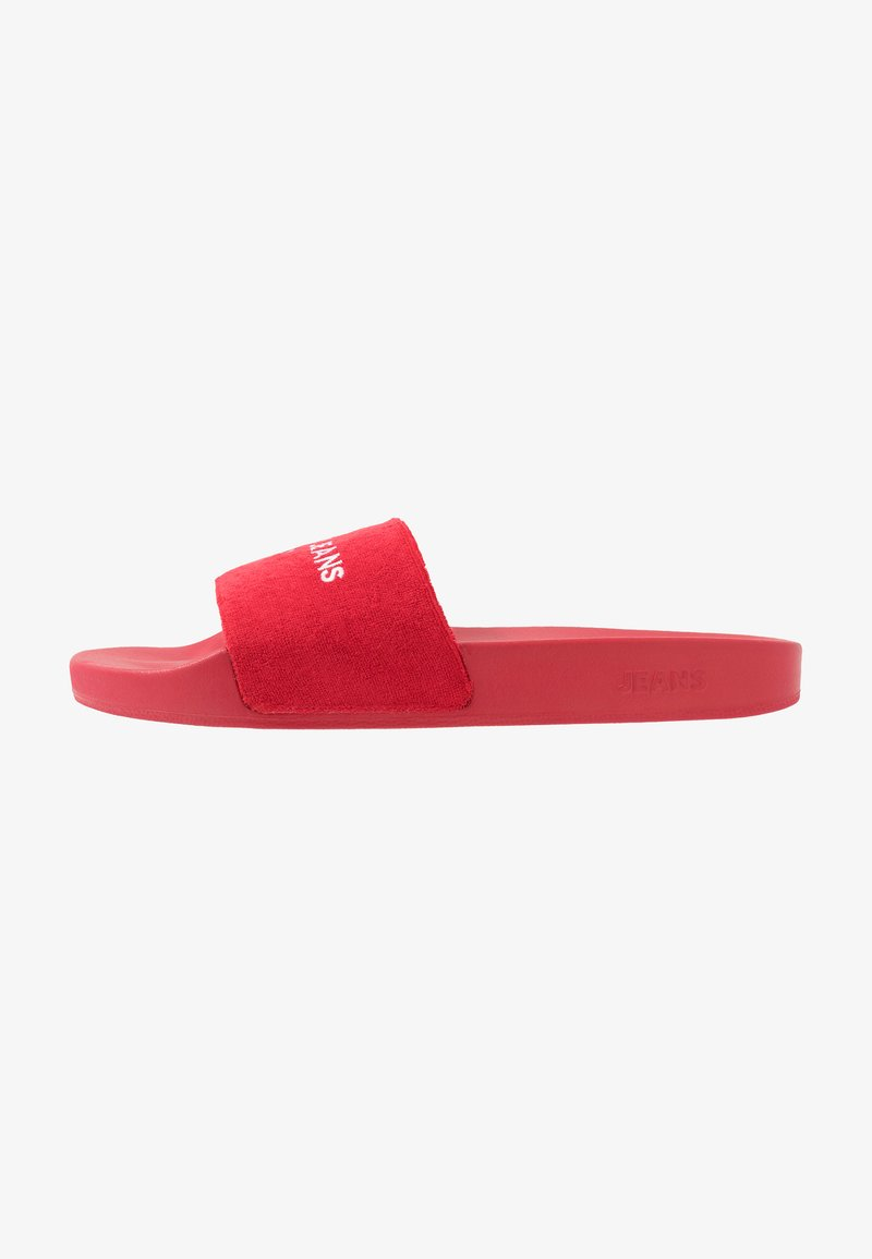 Tommy Jeans - SLIDE - Pantofle - red