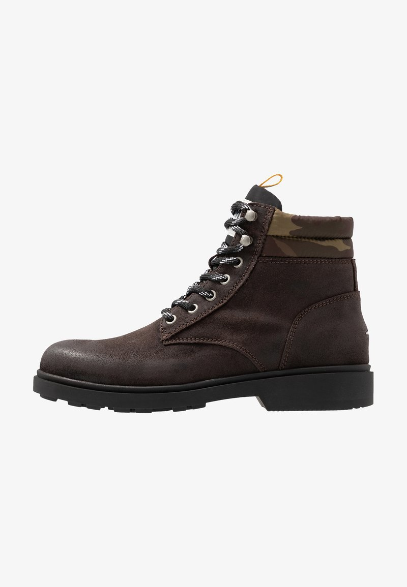 Tommy Jeans - CASUAL BOOT - Lace-up ankle boots - grey