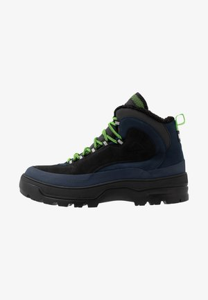 HILFIGER EXPEDITION BOOT - Botki sznurowane - black iris