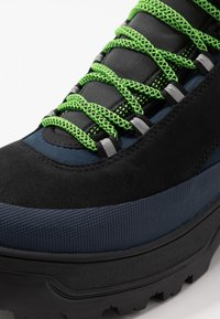 Tommy Jeans - HILFIGER EXPEDITION BOOT - Lace-up ankle boots - black iris - 5