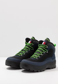 Tommy Jeans - HILFIGER EXPEDITION BOOT - Lace-up ankle boots - black iris - 2
