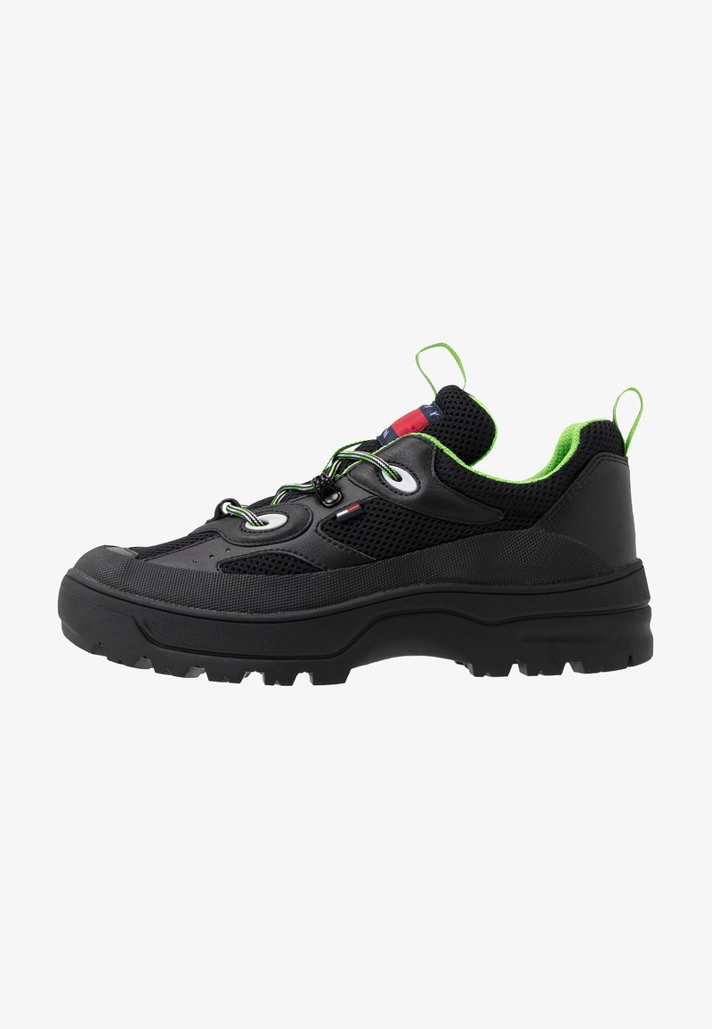 Tommy Jeans - EXPEDITION SHOE - Sneakers laag - black