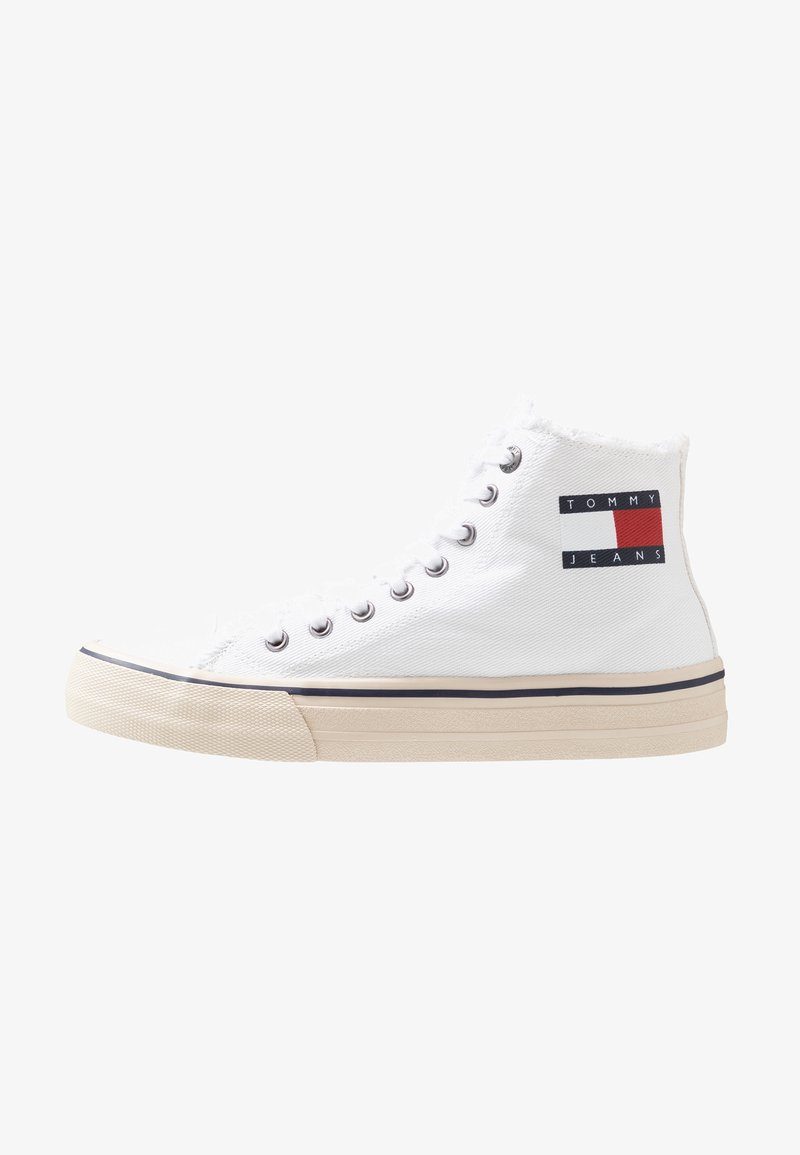 Tommy Jeans - HIGHTOP - Baskets montantes - white