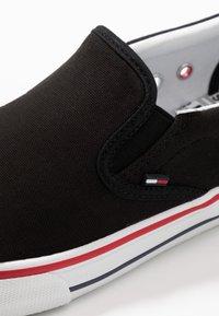 Tommy Jeans - Półbuty wsuwane - black - 5
