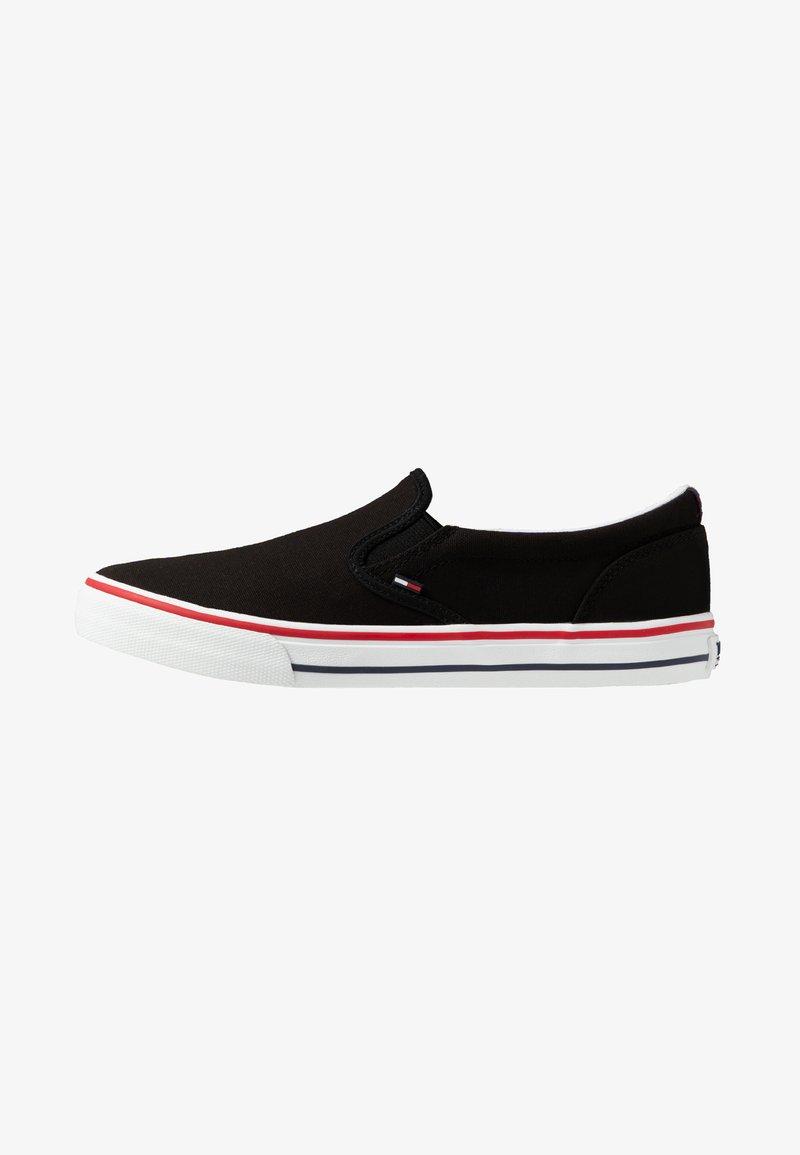 Tommy Jeans - Półbuty wsuwane - black