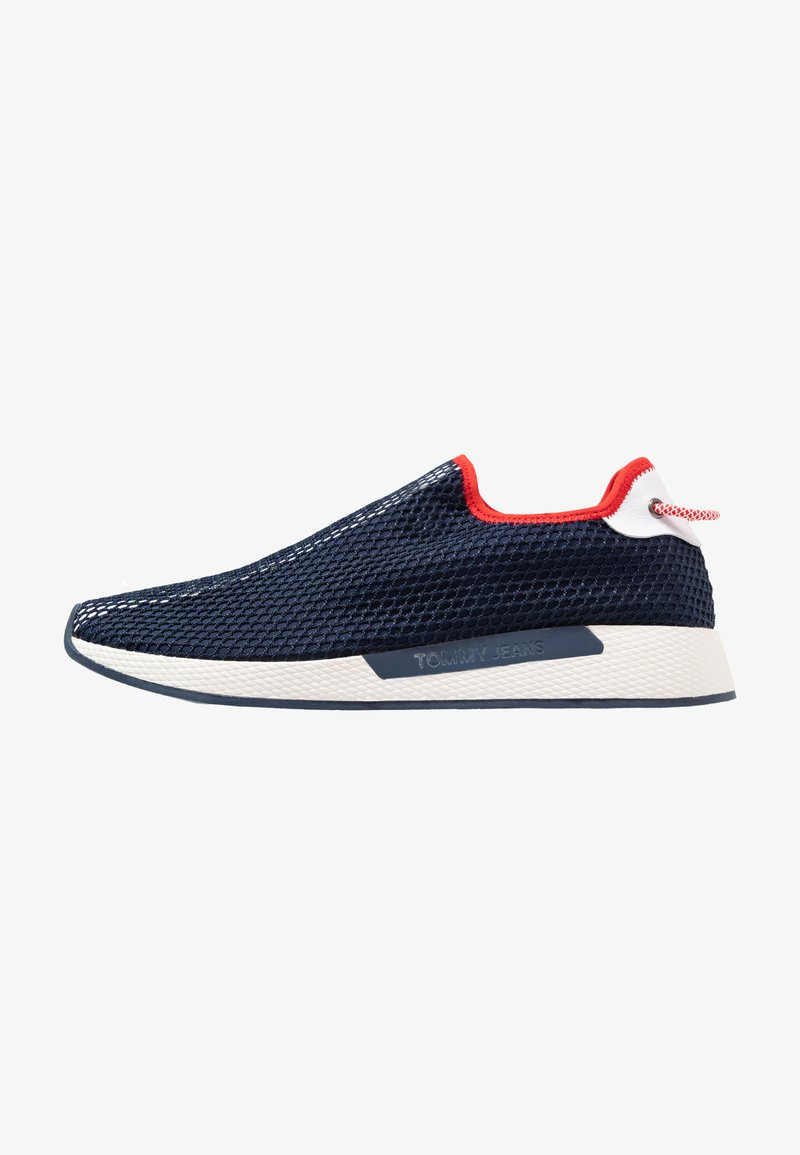 Tommy Jeans - TECHNICAL FLEXI - Slip-ons - red