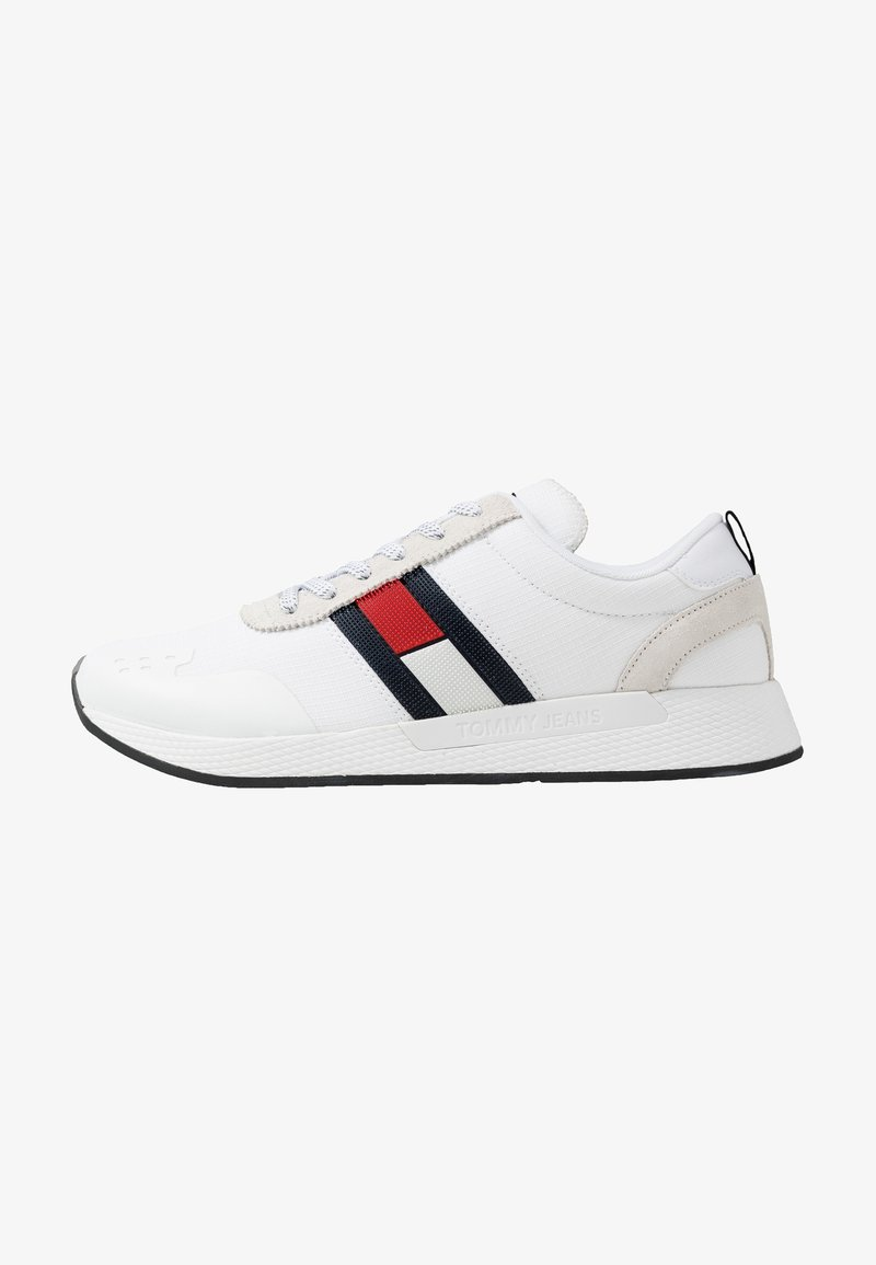 Tommy Jeans - FLAG FLEXI  - Sneakers basse - white