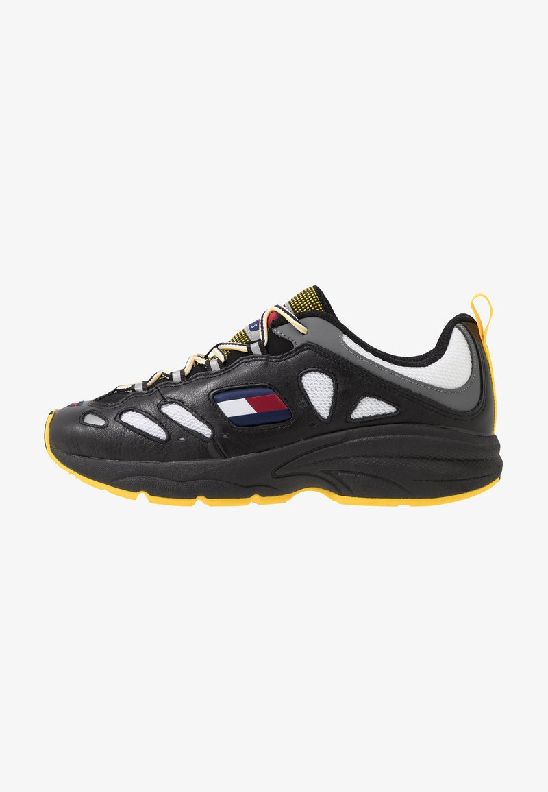 Tommy Jeans - HERITAGE RETRO  - Sneakers basse - black