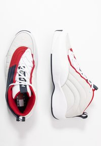 Tommy Jeans - THE SKEW HERITAGE  - Trainers - red/white/blue - 1