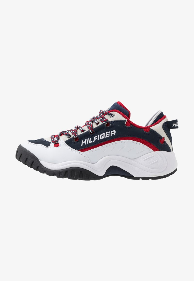 Tommy Jeans - HERITAGE  - Sneakersy niskie - white