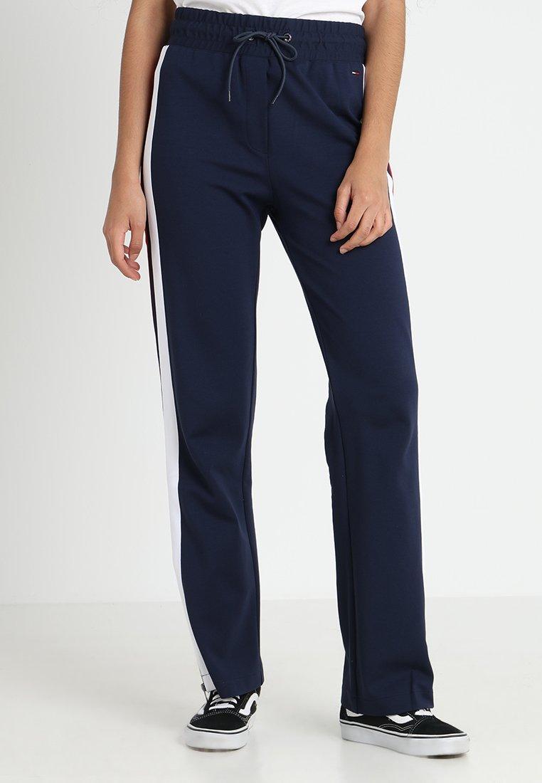 Tommy Jeans - ZIPPER PANT - Jogginghose - black iris