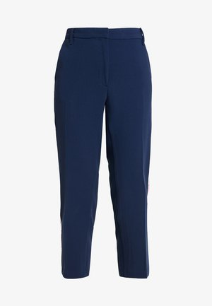 SIDE STRIPE PANT - Bukse - dark blue
