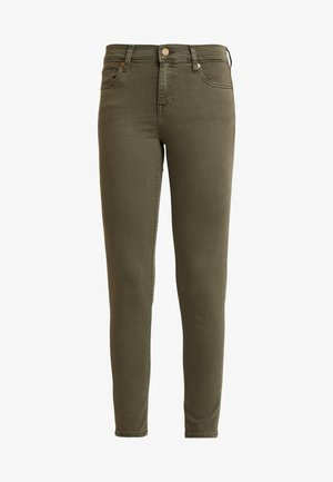 MID RISE SKINNY NORA 7/8 - Jeans Skinny Fit - olive night