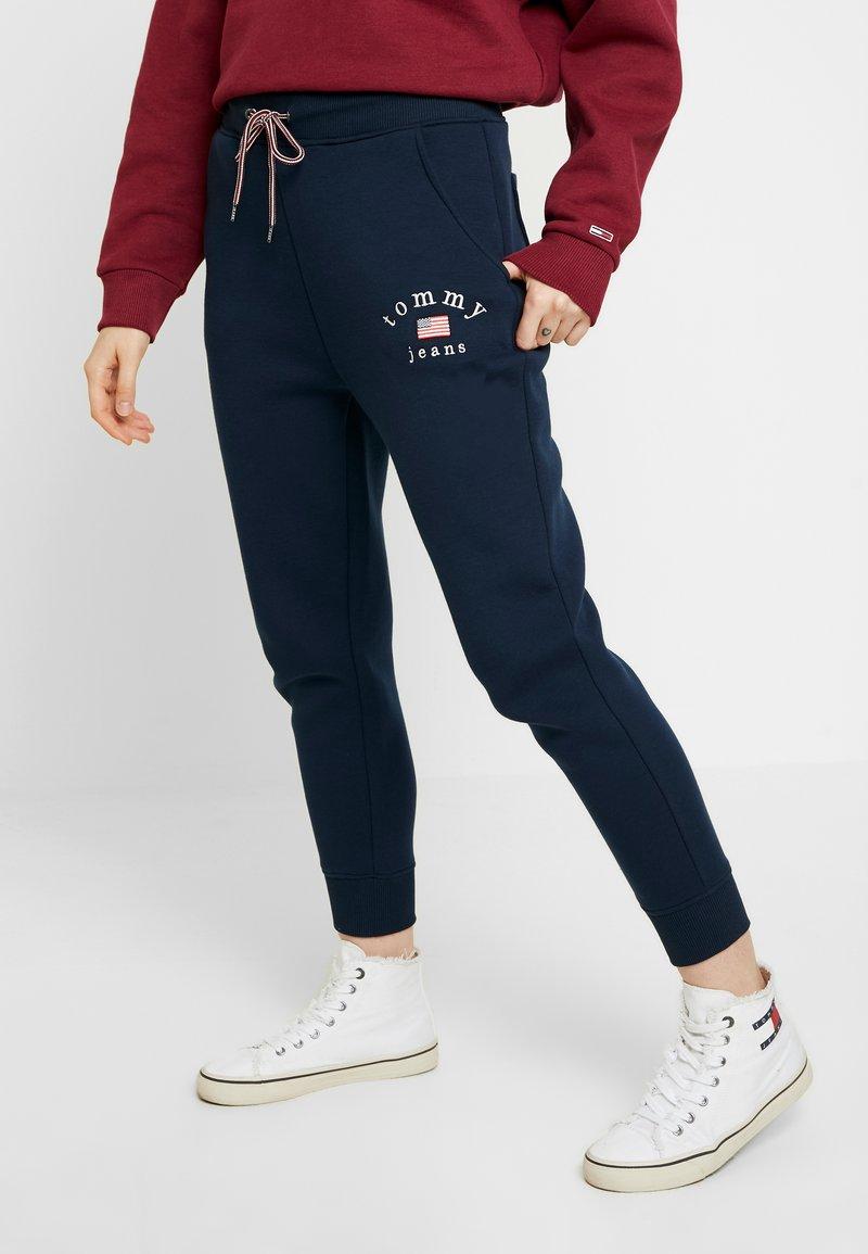 Tommy Jeans - SWEATPANT - Spodnie treningowe - black iris