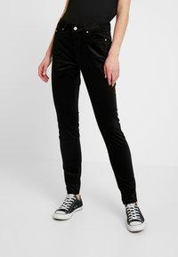 Tommy Jeans - HIGH RISE SUPER - Pantalon classique - black - 0