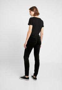 Tommy Jeans - HIGH RISE SUPER - Pantalon classique - black - 2