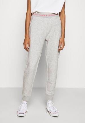 LOGO - Pantaloni sportivi - light grey heather