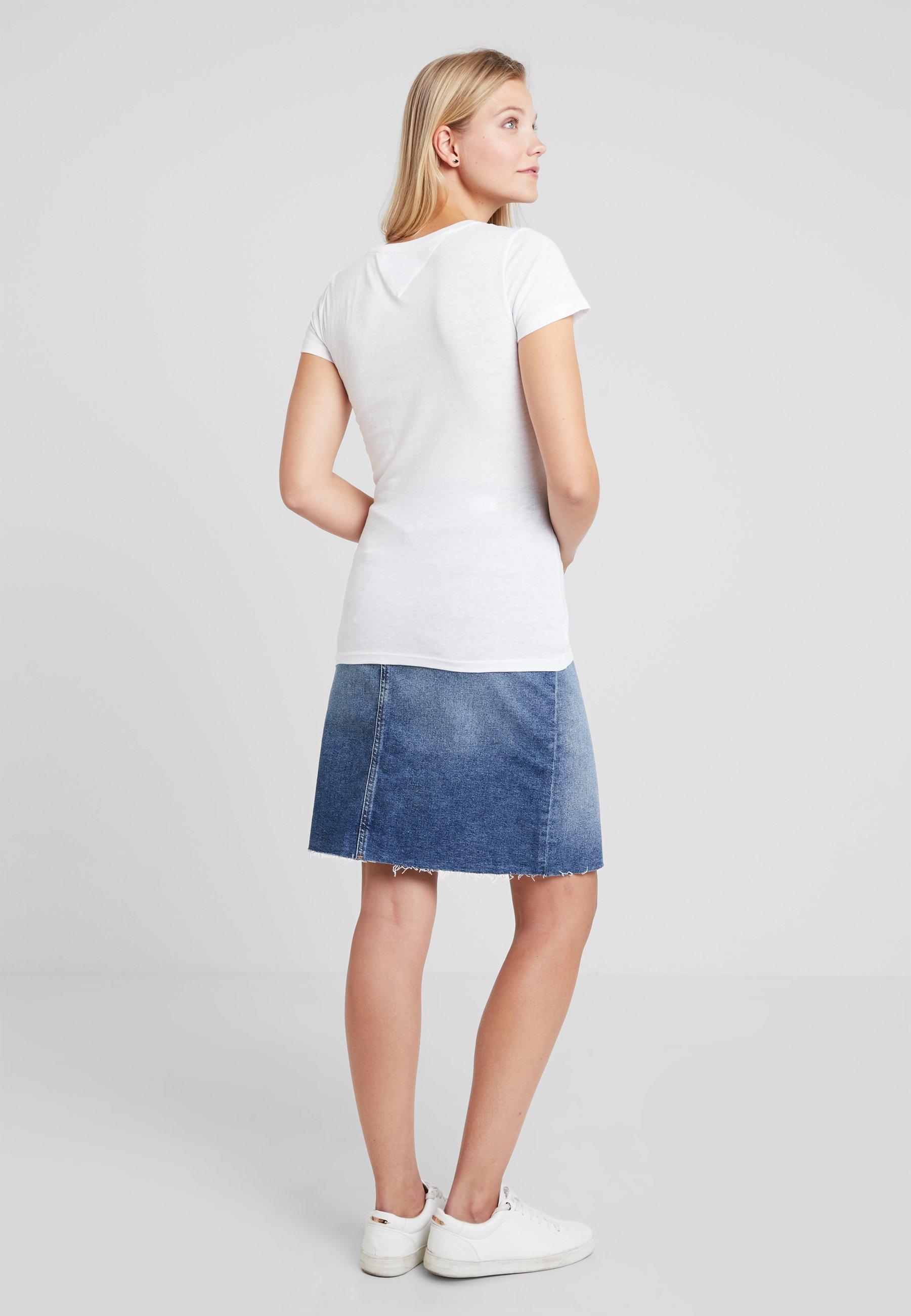 SkirtJupe En Dark Tommy Denim Jeans Jean Blue bgfY76yv