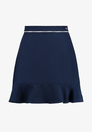 PIPING DETAIL SKIRT - A-line skirt - black iris