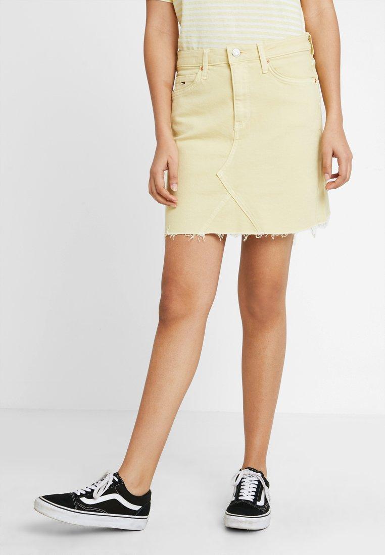 Tommy Jeans - SKIRT - Denim skirt - french vanilla com
