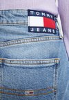 Tommy Jeans - SKIRT MAIA - Denim skirt - light-blue denim