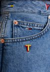 Tommy Jeans - SHORT SKIRT - Falda vaquera - light blue
