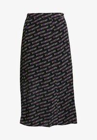 Tommy Jeans - OUTLINE PRINT SKIRT - A-line skirt - tommy black - 3