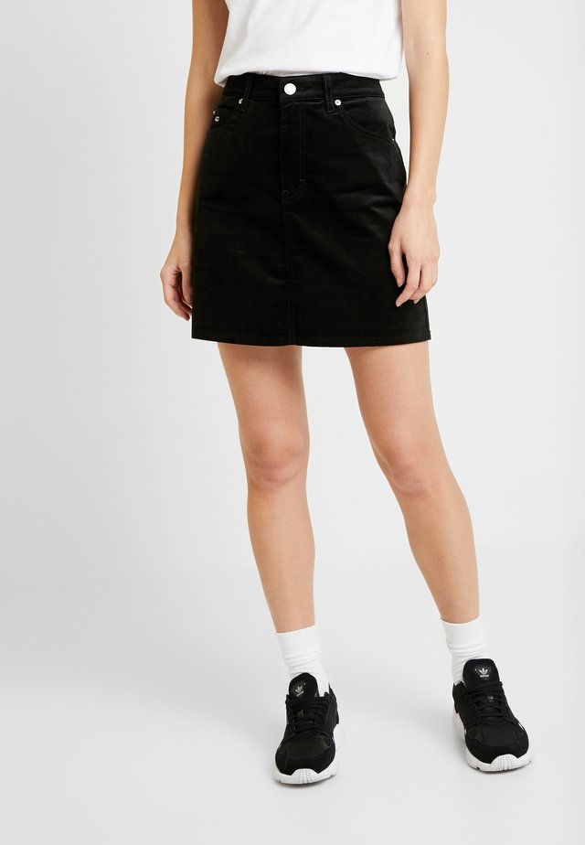 SHORT SKIRT - Mini skirt - black
