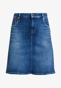 Tommy Jeans - CLASSIC SKIRT - A-linjainen hame - blue denim - 3
