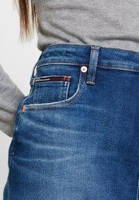 Tommy Jeans - CLASSIC SKIRT - A-linjainen hame - blue denim - 4