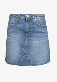 Tommy Jeans - SHORT SKIRT - Farkkuhame - blue denim - 4