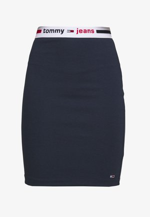 BODYCON SKIRT - Spódnica mini - twilight navy
