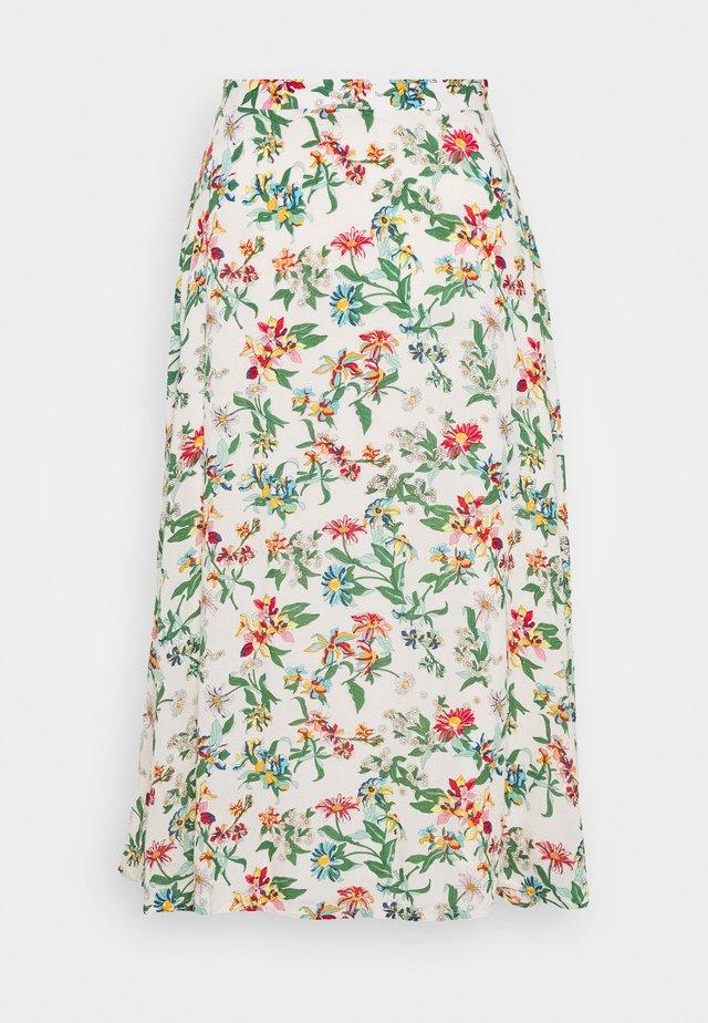 SUMMER MIDI SKIRT - A-line skirt - hawaii