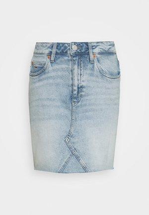 SHORT SKIRT - Jeansnederdel/ cowboy nederdele - cony light blue comfort