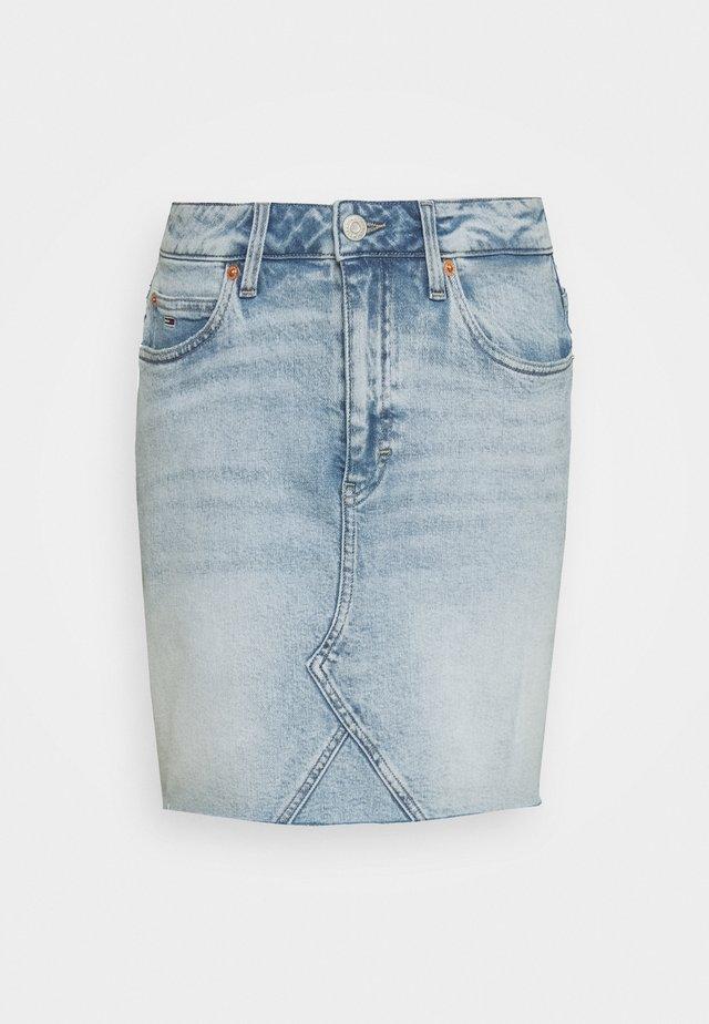 SHORT SKIRT - Denim skirt - cony light blue comfort