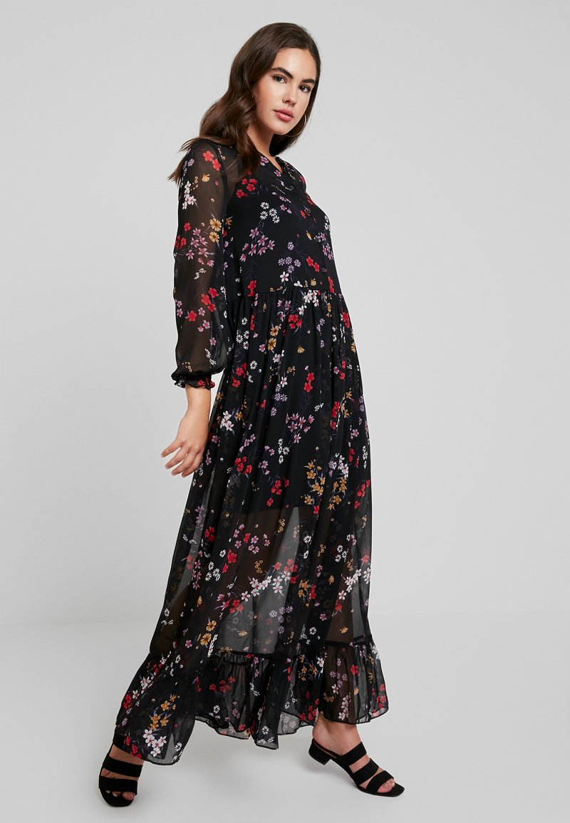 Tommy Jeans - RUFFLE DRESS - Maxikleid - multi-coloured