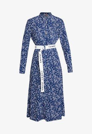 PRINT MIX DRESS - Košilové šaty - blue depths