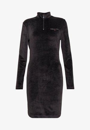 MOCK NECK DRESS - Kjole - black