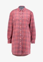 CHECK - Shirt dress - pink