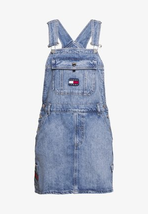 DUNGAREE DRESS - Robe en jean - carol