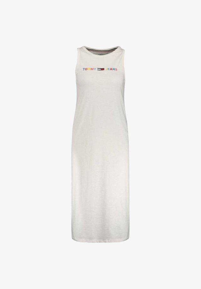 TJW LOGO TANK DRESS - Korte jurk - weiss (10)