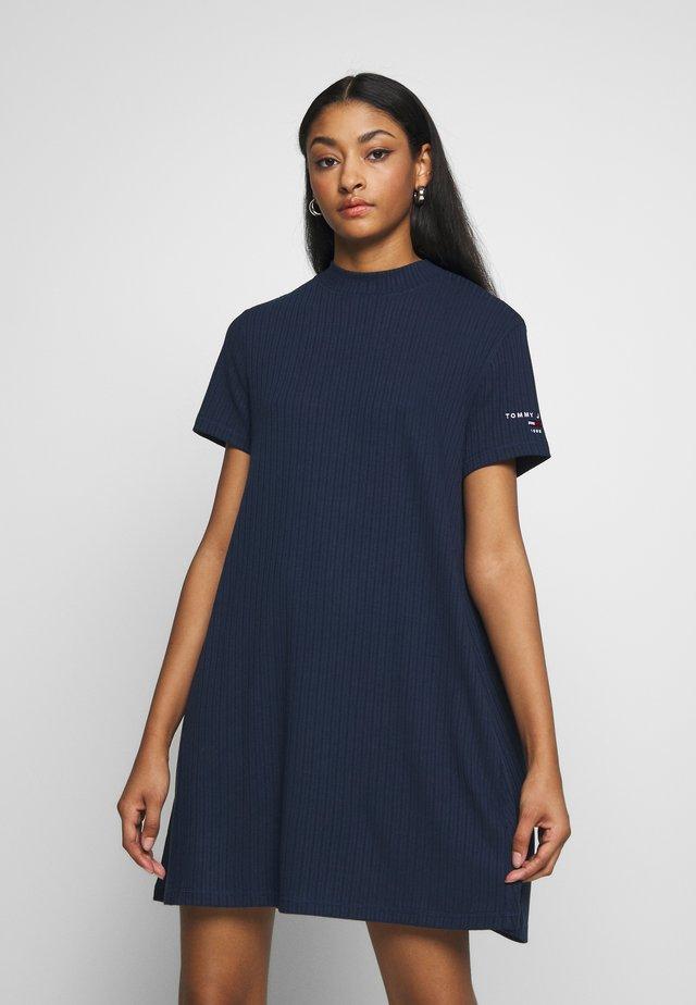 TEE DRESS - Korte jurk - twilight navy