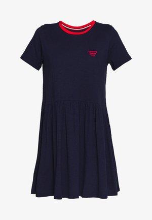 CONTRAST BINDING DRESS - Sukienka z dżerseju - twilight navy